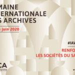 semaine internationale des archives